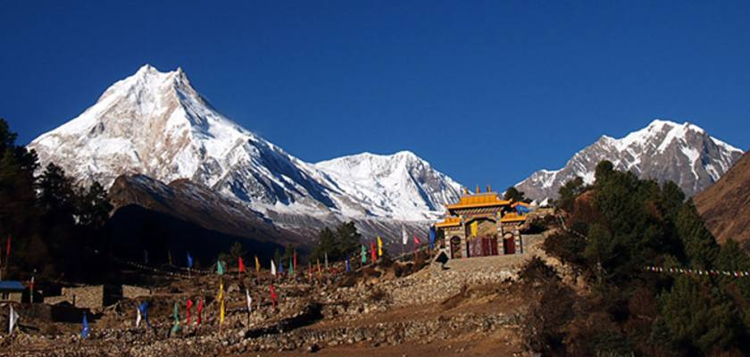 Manaslu Circuit via Tsum Valley Trek
