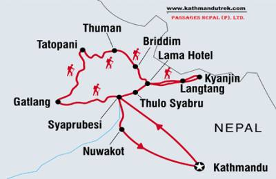 Tamang heritage trail trek with Map